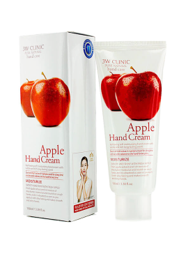 Крем для рук 3W CLINIC Moisturizing Apple Hand Cream 100 ml
