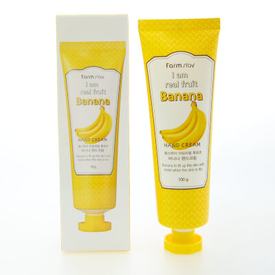 Крем для рук с экстрактом банана FarmStay I Am Real Fruit Banana Hand Cream 100g