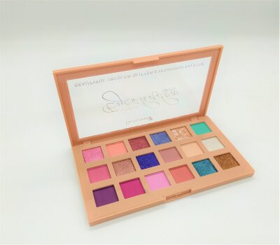 Тени для век Gulflower Shimer Eyeshadow Matte Beautyful 18 Color Glitter Eyeshadow Palette