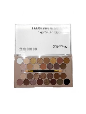 Палетка теней для век Gulflower Matte & Shimmer Eyeshadow Palette 30 color