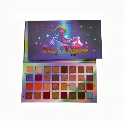 Палетка теней для век Coco Urban Stay Magical 32 Colors Eyeshadow Palette