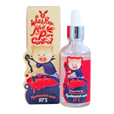 Сыворотка для лица Elizavecca WITCH PIGGY HELL PORE CONTROL HYALURONIC ACID 97% SERUM 50ML