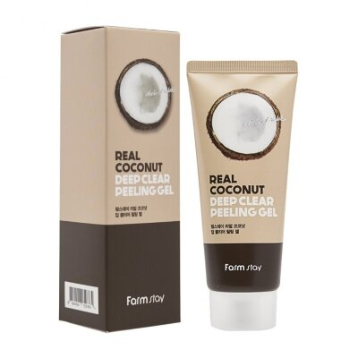 Пилинг-гель с экстрактом кокоса FarmStay Real Coconut Deep Clear Peeling Gel 100 ml