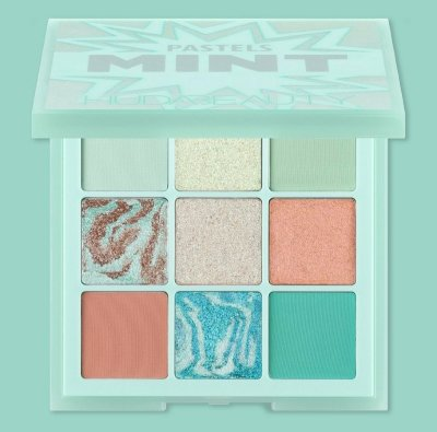 Тени для век Huda Beauty Mint Pastels