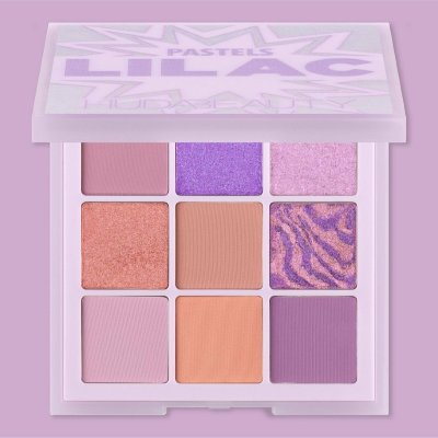 Тени для век Huda Beauty Liliac Pastels