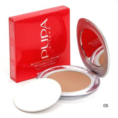 Пудра для лица Pupa Silk Touch Compact Powder (05)