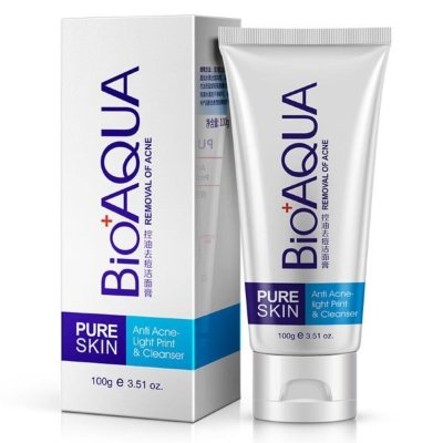 ПЕНКА ДЛЯ УМЫВАНИЯ Anti Acne - Light Print & Cleanser BIOAQUA PURE SKIN