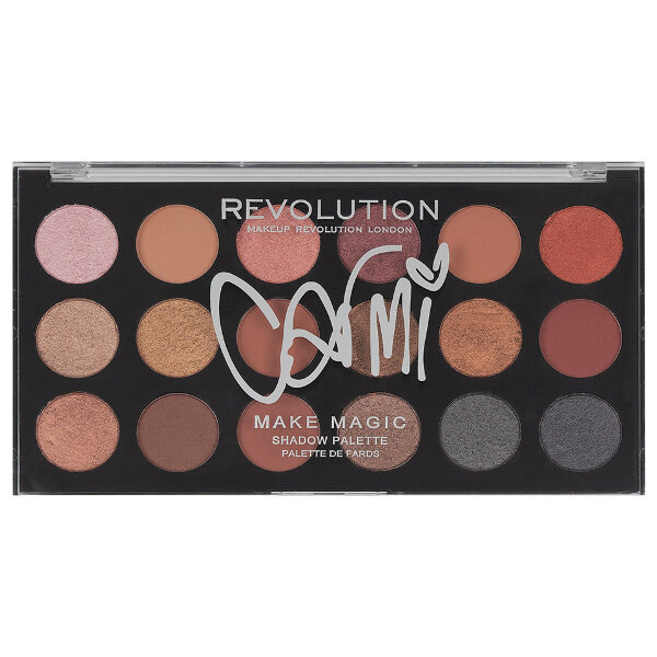 Палетка теней MakeUp Revolution Carmi Make Magic 18 цветов
