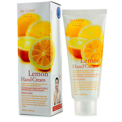 Крем для рук 3W CLINIC Lemon Hand Cream 100 ml