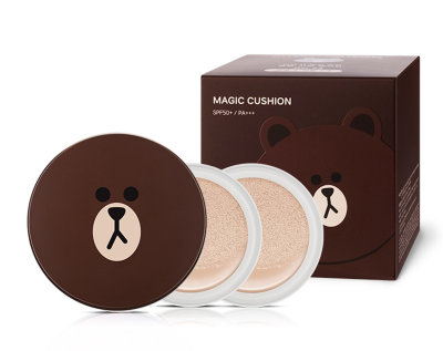 Missha Line Friends Brown Cushion +Refill